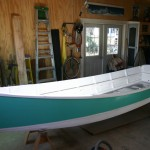skiff primed interior and topside paint