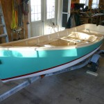 skiff finished in shop