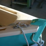 skiff bow detail