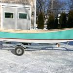 skiff profile outside