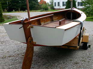 Merry Mac 14' Sailboat by Ned McIntosh