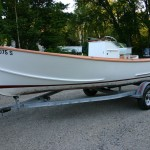 Pointer - 18' center console with trailer